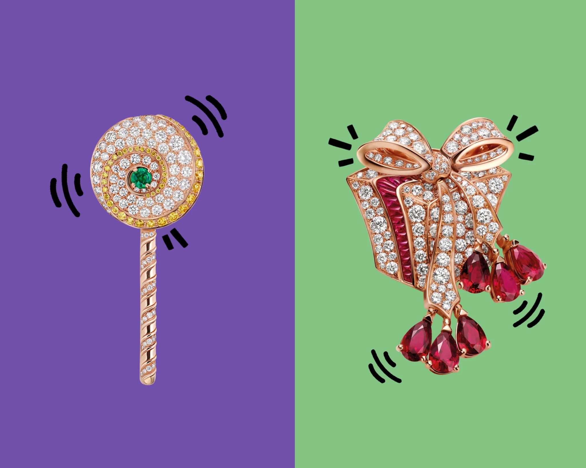 宝格丽的表情符号珠宝创作