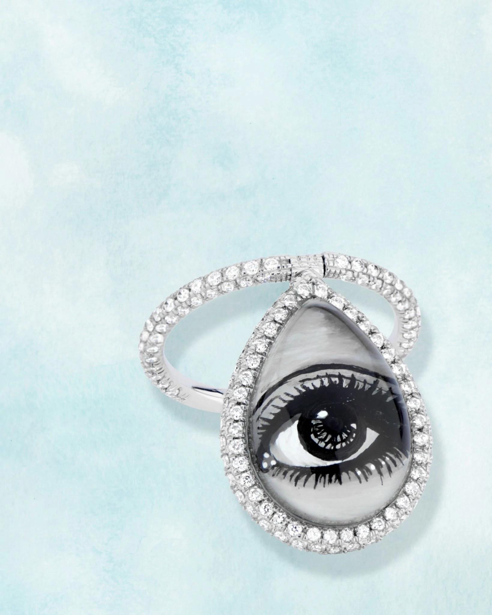 尼娜·朗斯多夫设计的天然钻石饰品