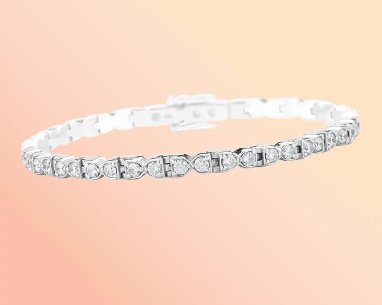 黛博拉·帕加尼设计的天然钻石手链