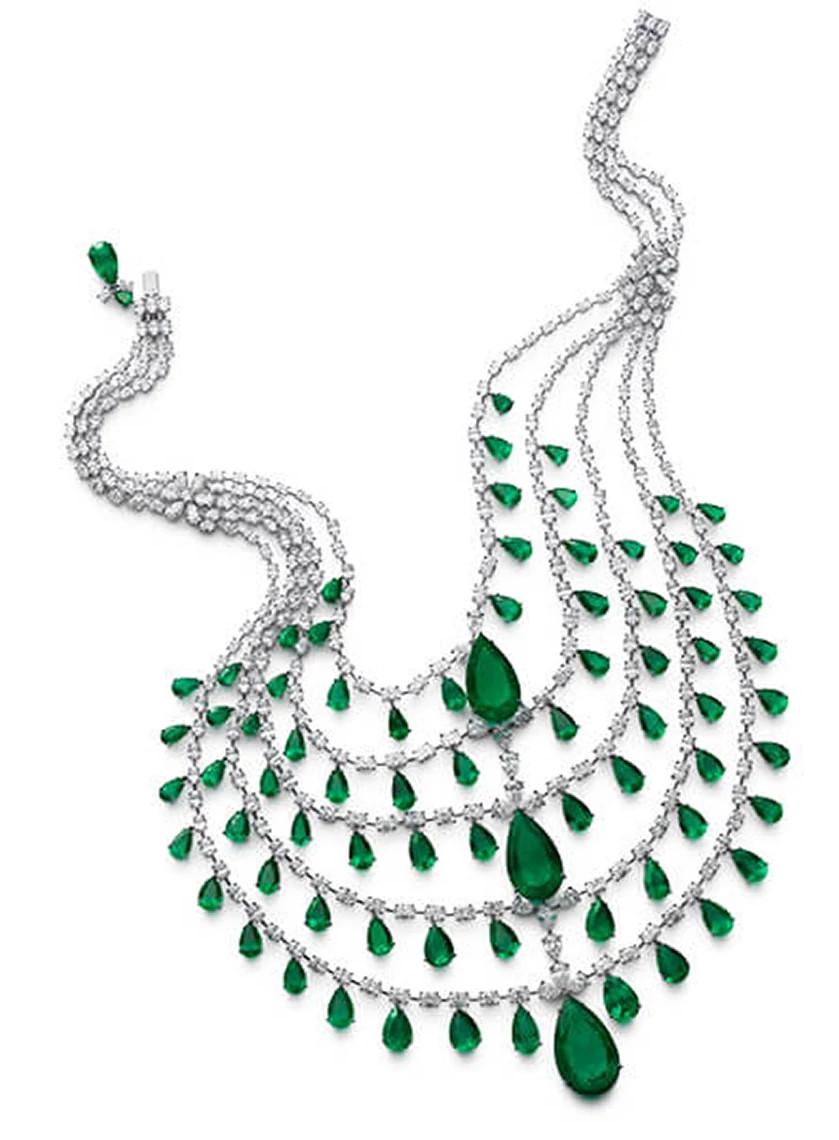 天然钻石项链