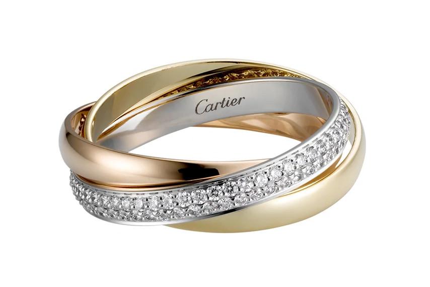 卡地亚Trinity指环