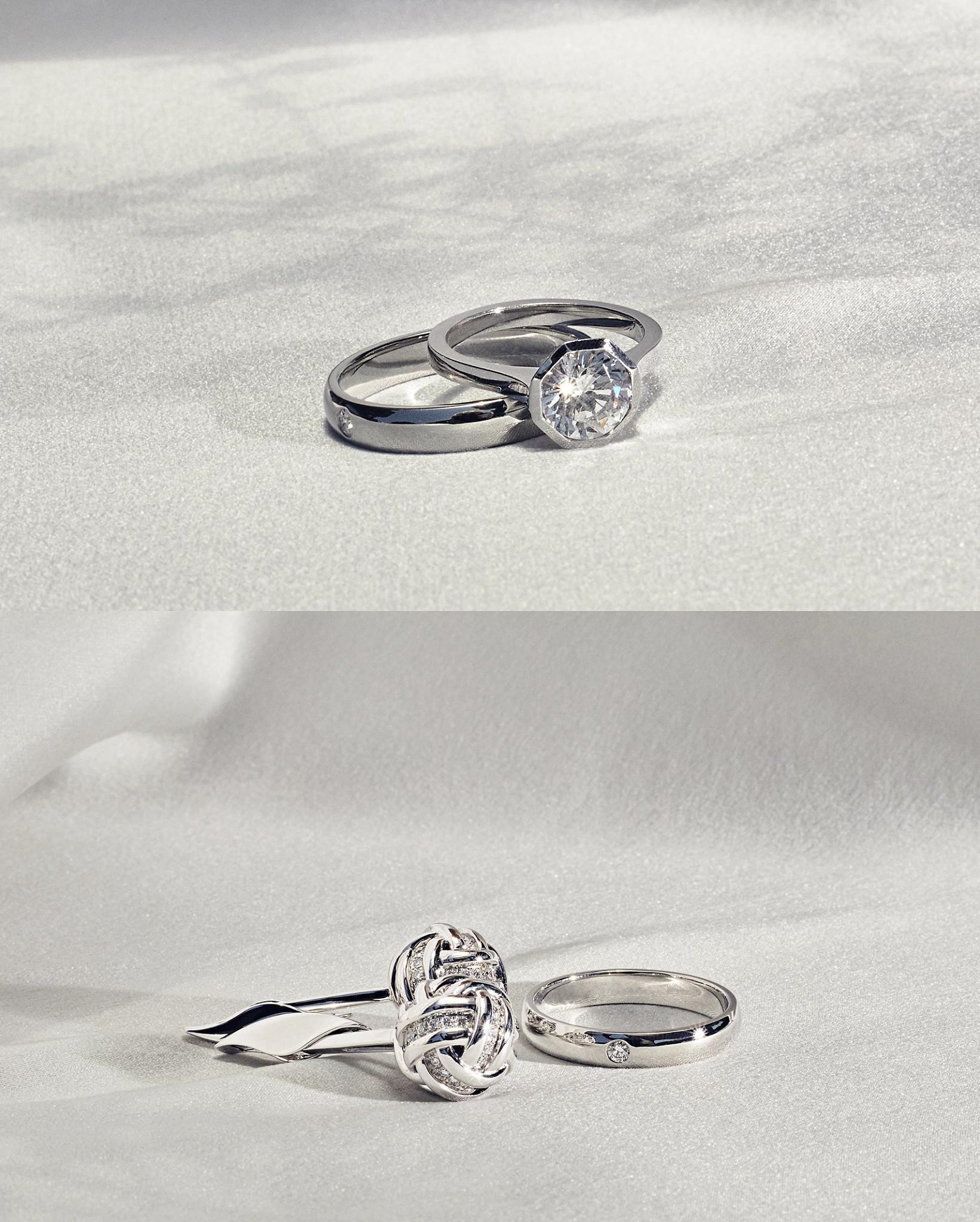 天然钻石戒指