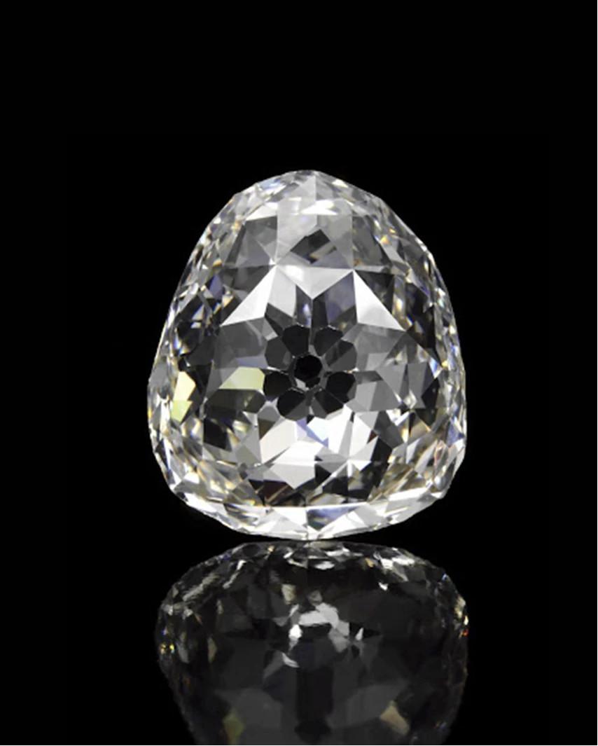 美第奇点状切割天然钻石