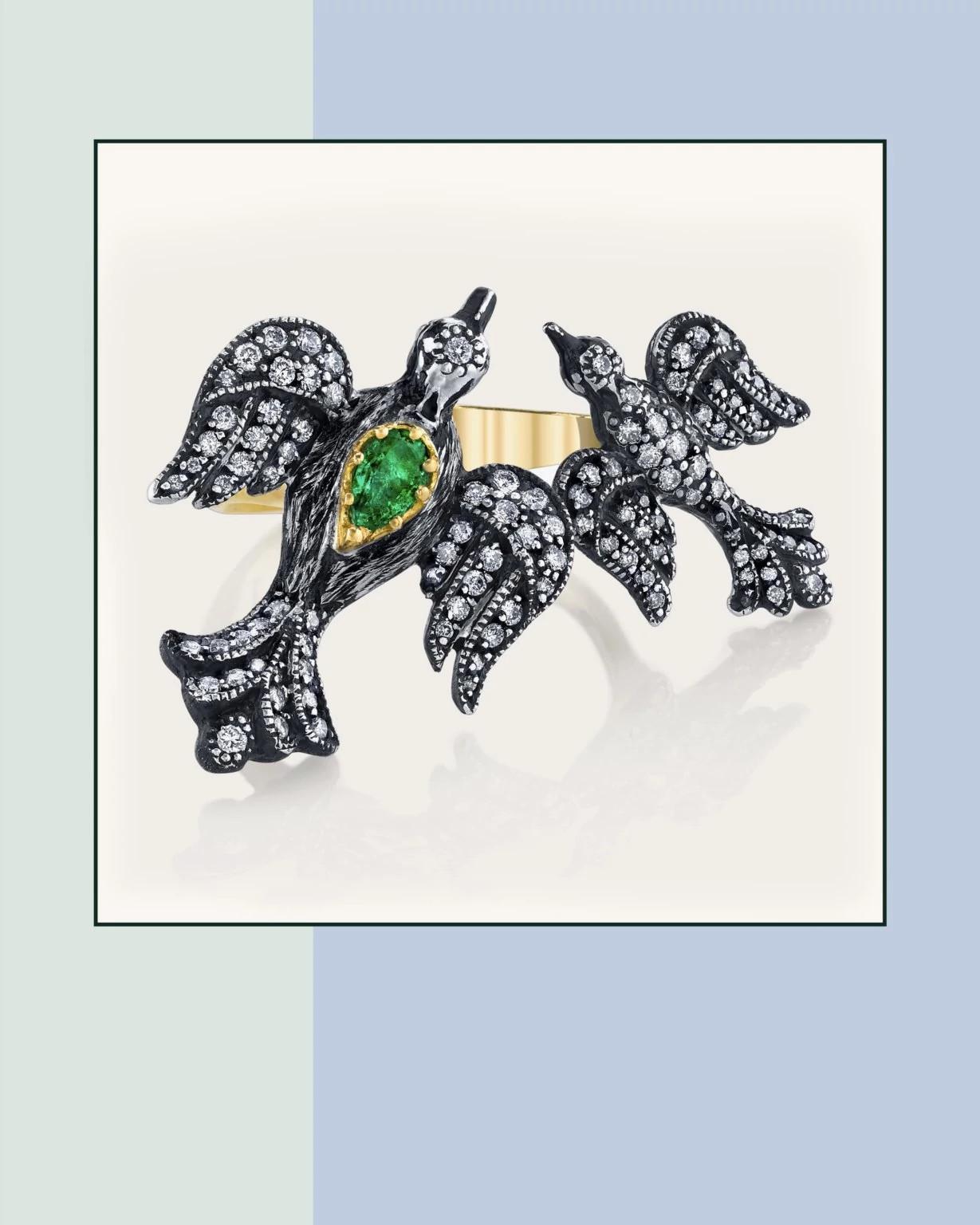 Arman Sarkisyan的天然钻石作品