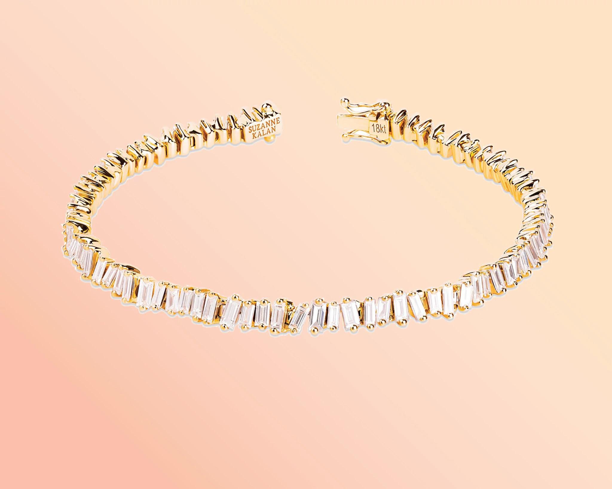 苏珊·卡兰设计的天然钻石手链