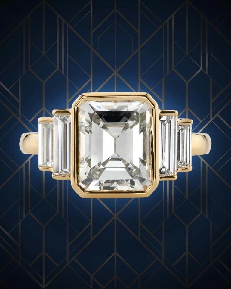 Single Stone天然钻石戒指