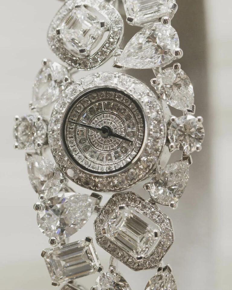 天然钻石天体手表