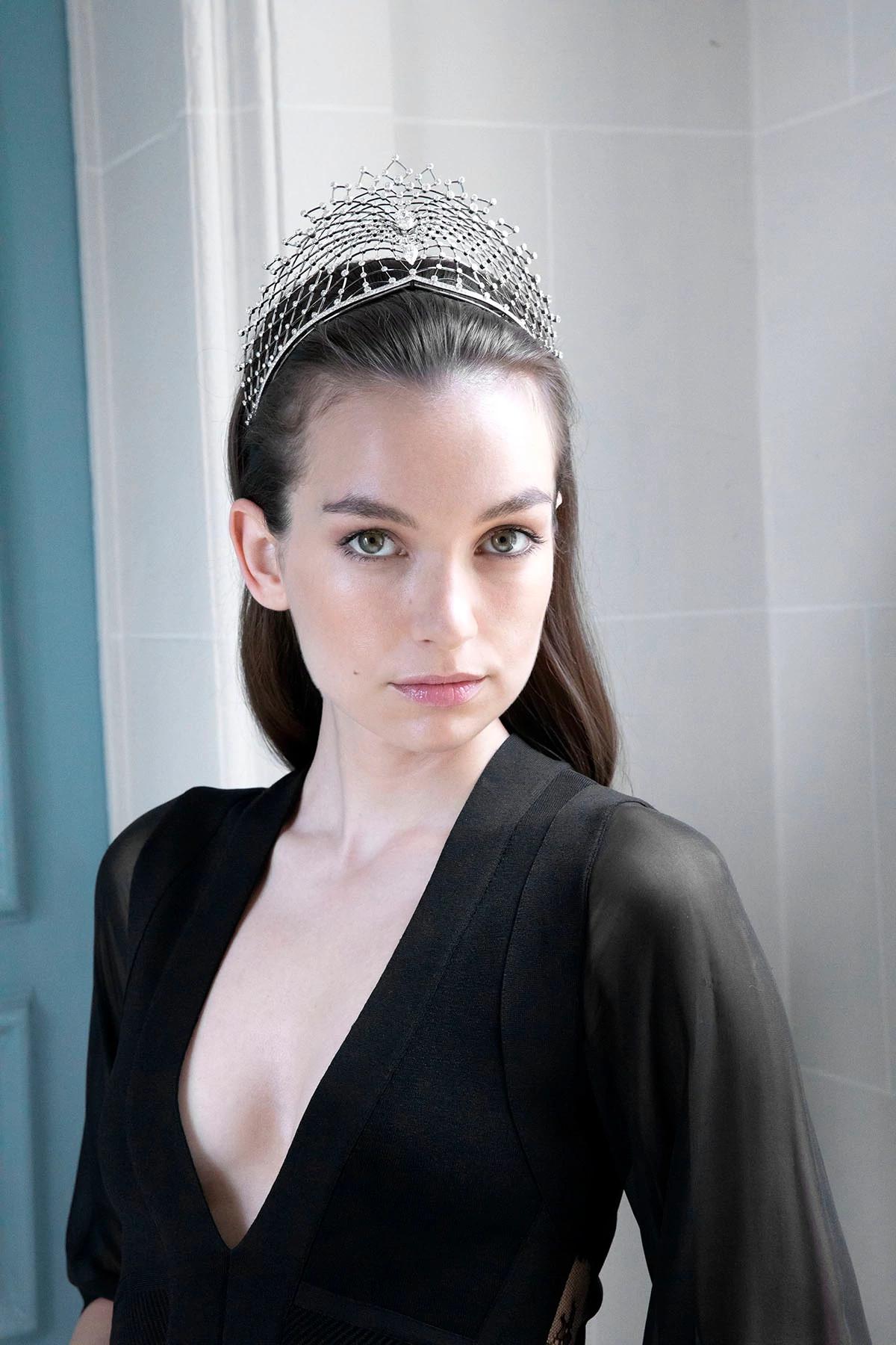 尚美巴黎Lacis高级珠宝系列冕状头饰