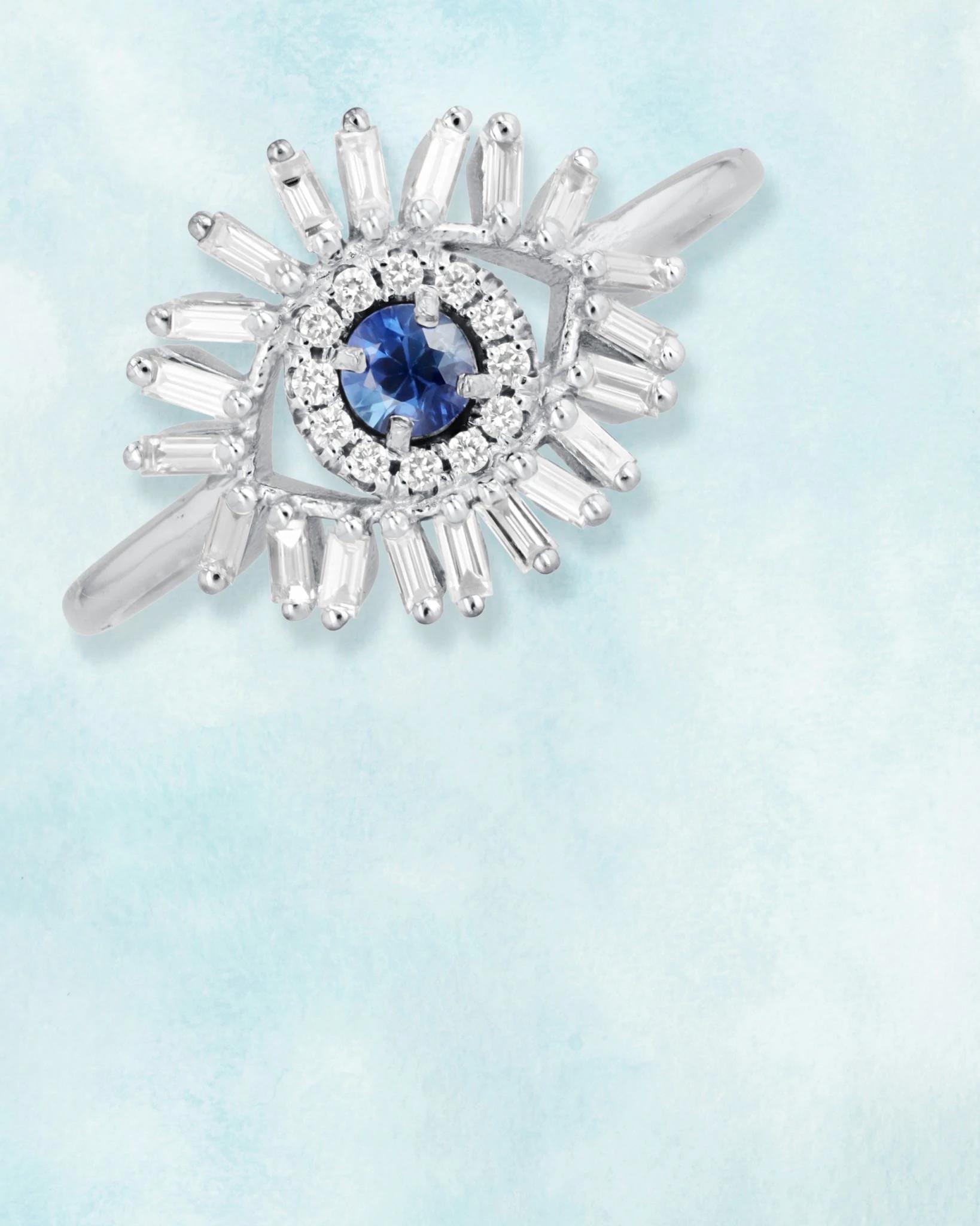 苏珊娜·卡兰设计的天然钻石饰品