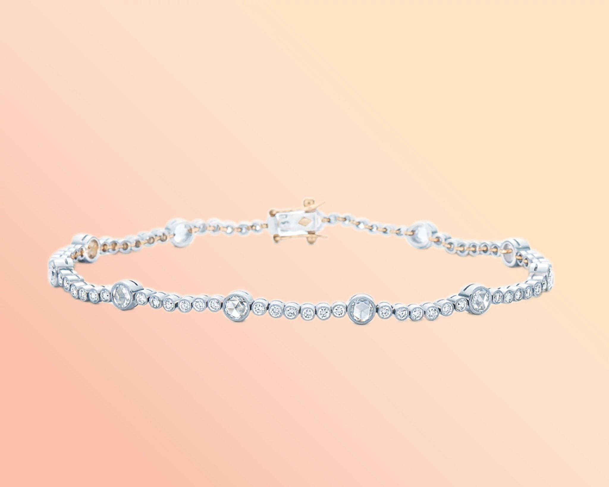 Kwiat天然钻石手链
