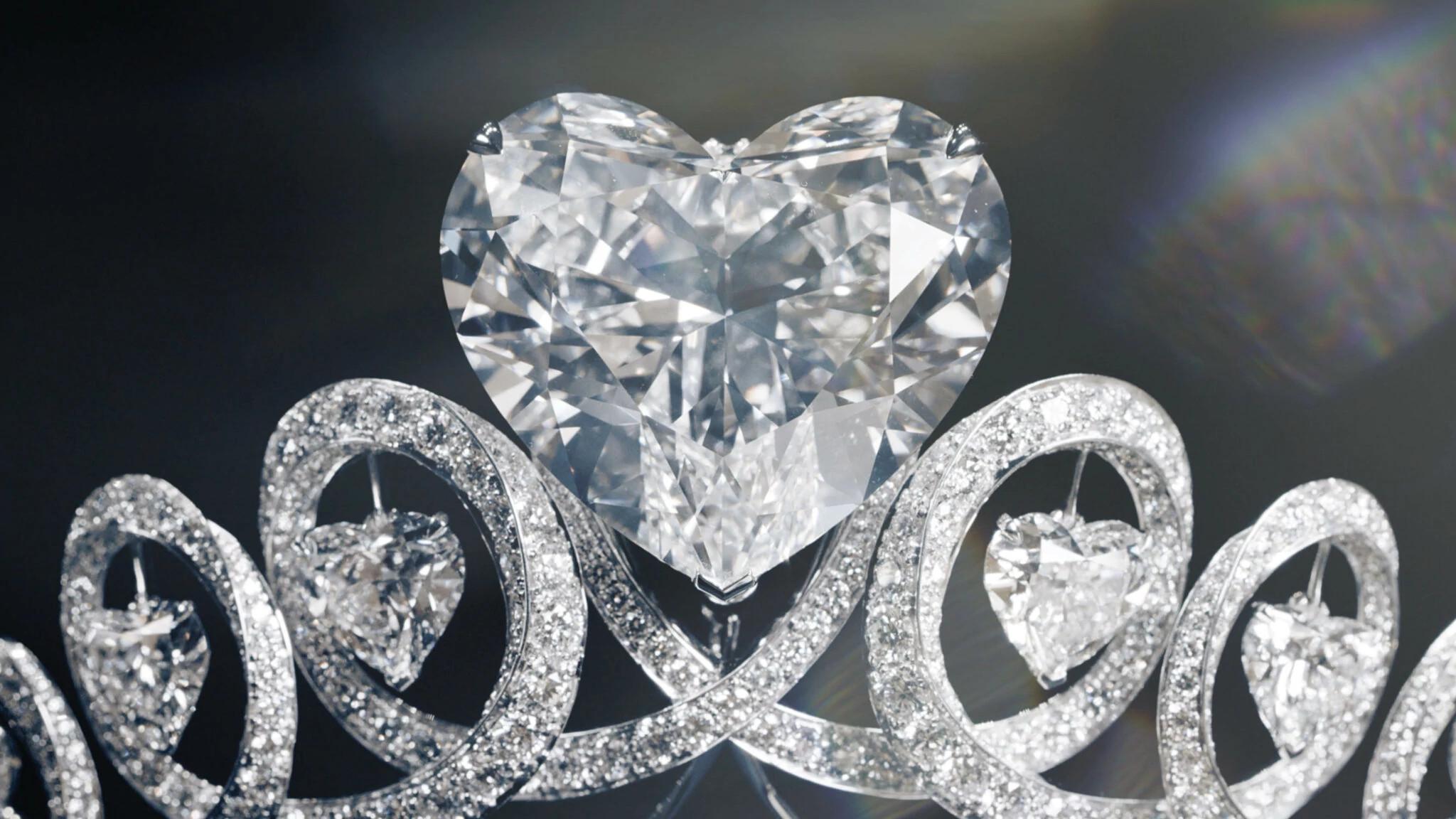 托姆布雷天然钻石皇冠