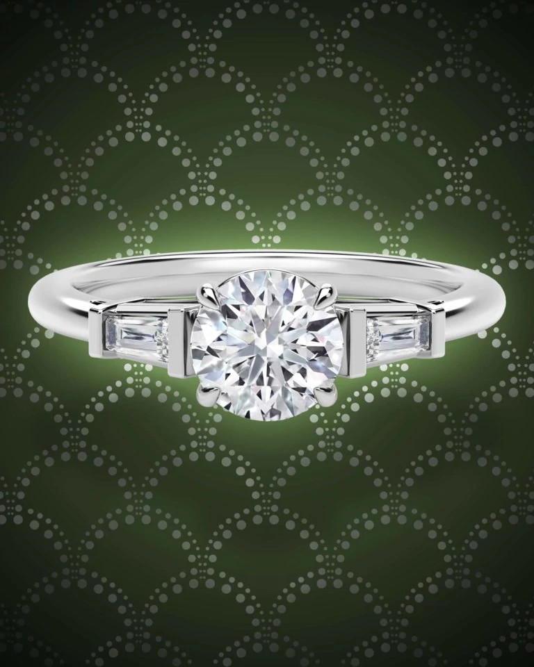 Forevermark天然钻石戒指