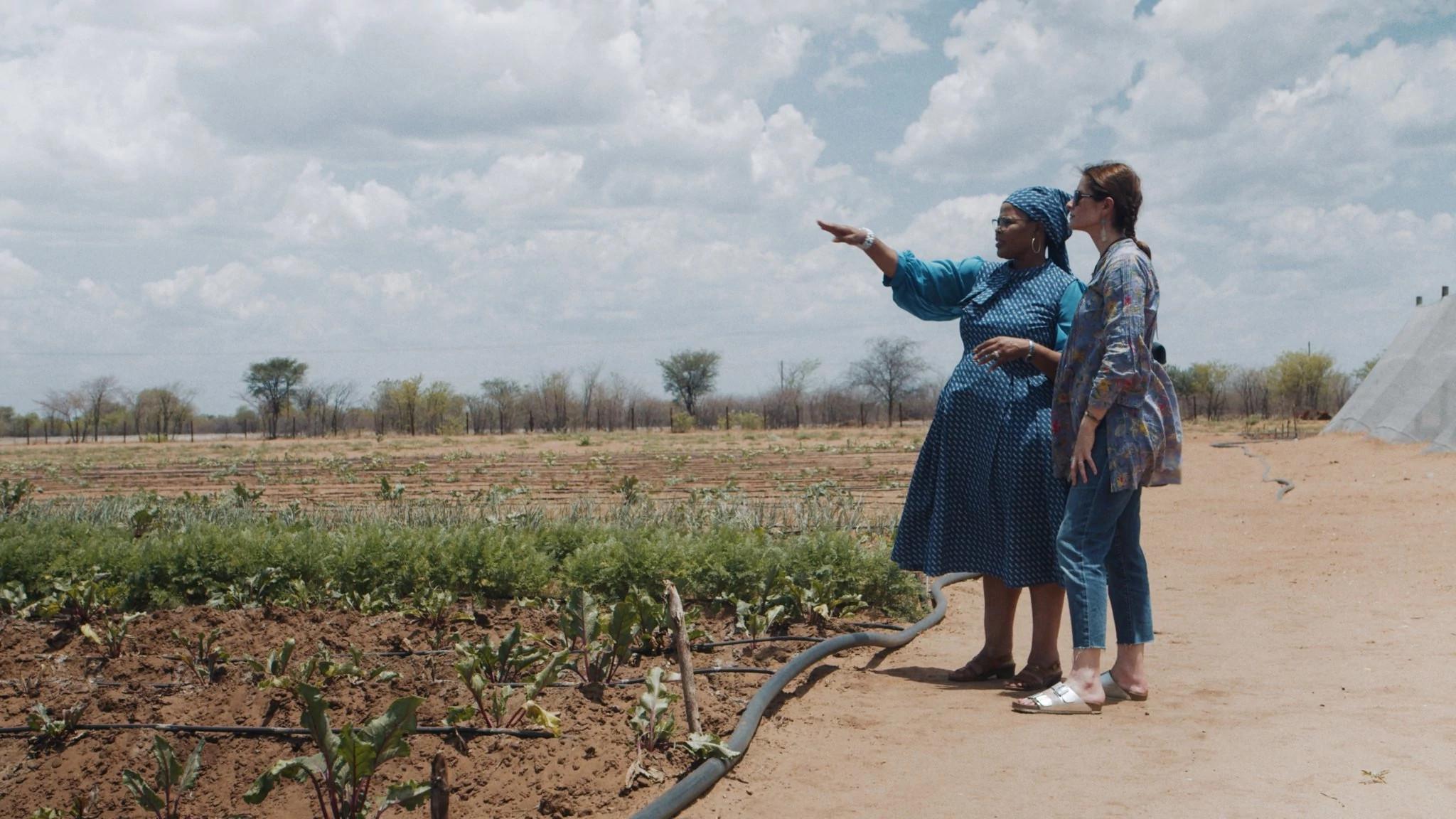利维亚·费尔斯在博茨瓦纳考察