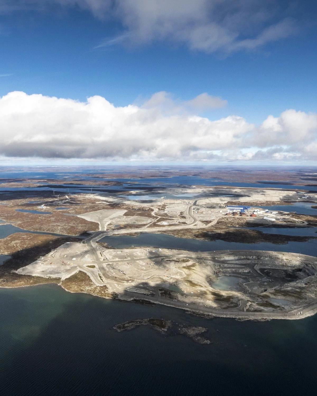加拿大的维科钻石矿