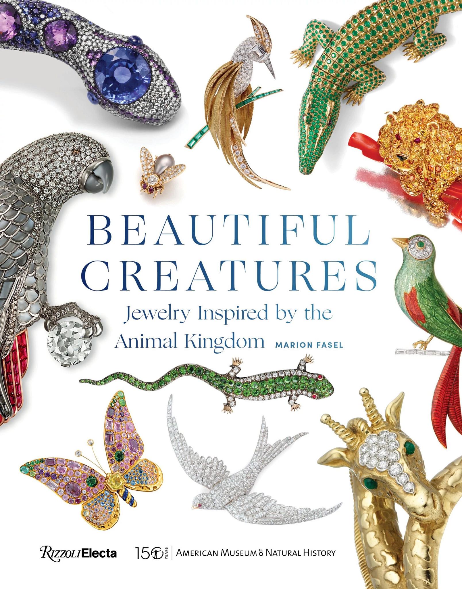 《美丽的生物:受动物王国启发的珠宝》