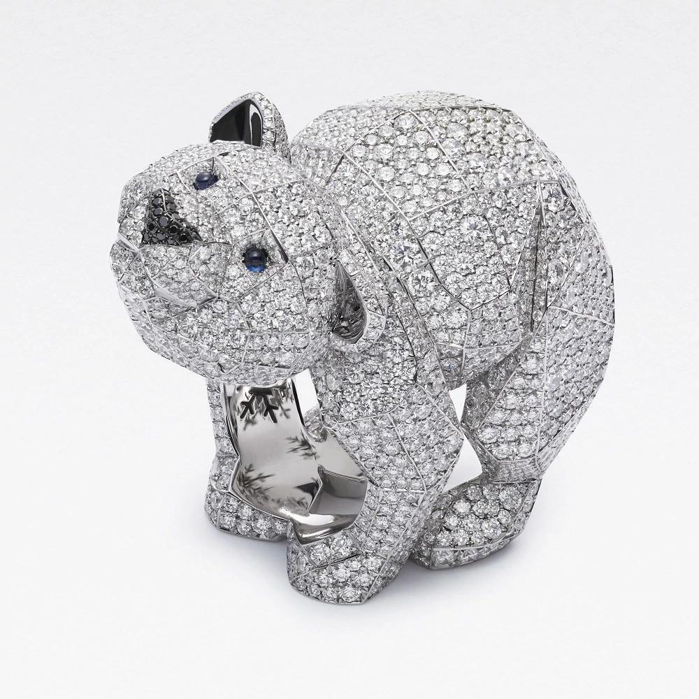 Polar Bear 白金戒指