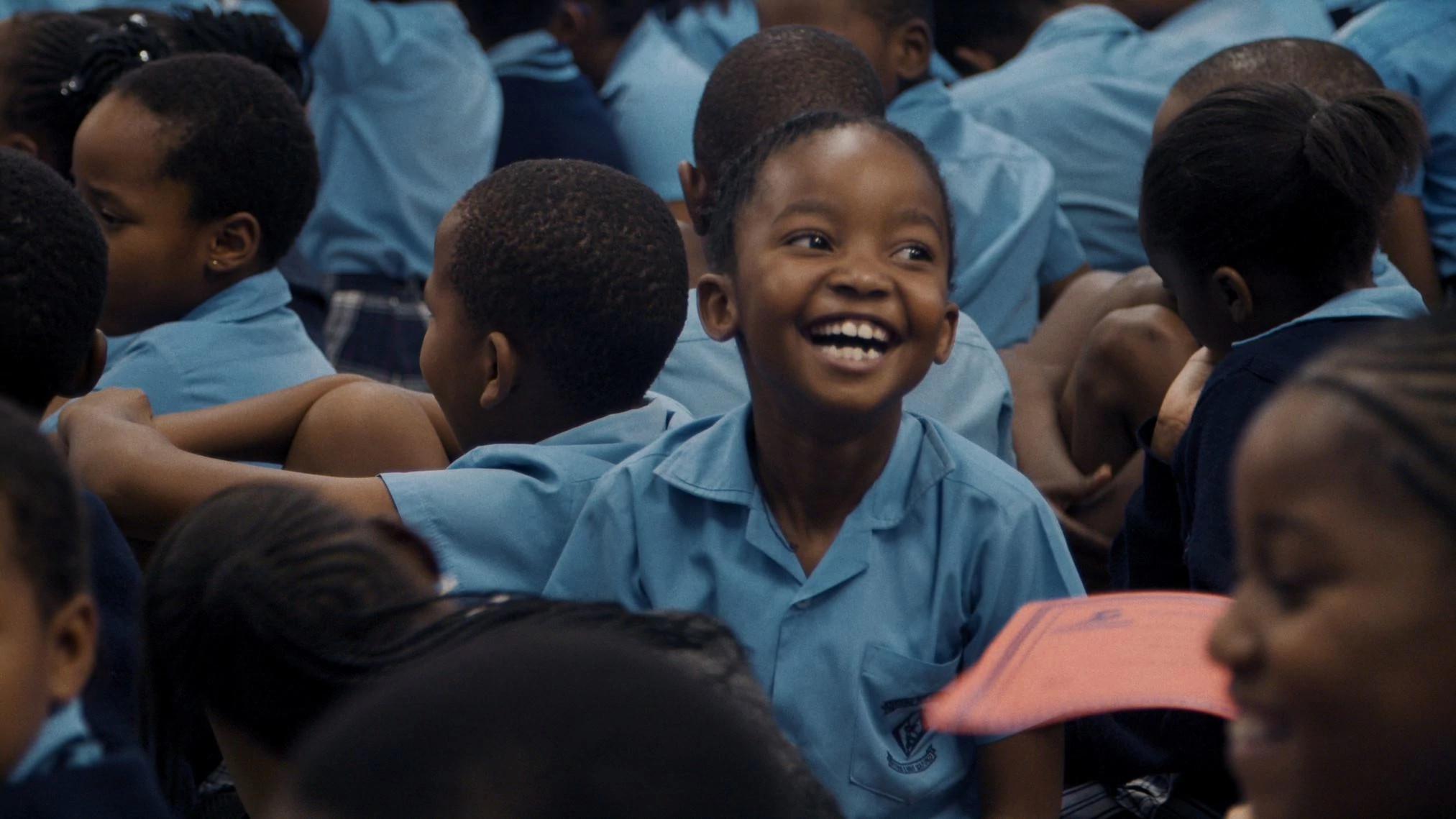 奥拉帕 (Orapa)学校的学生