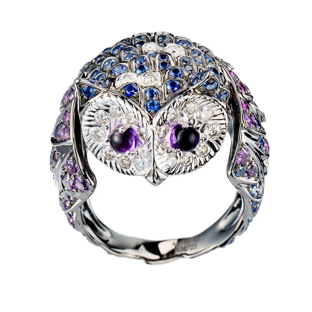 The Owl白金戒指