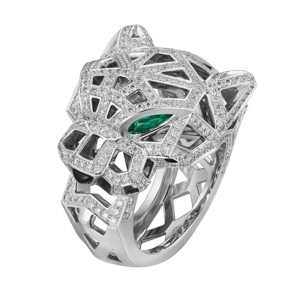 Panthère de Cartier 白金戒指