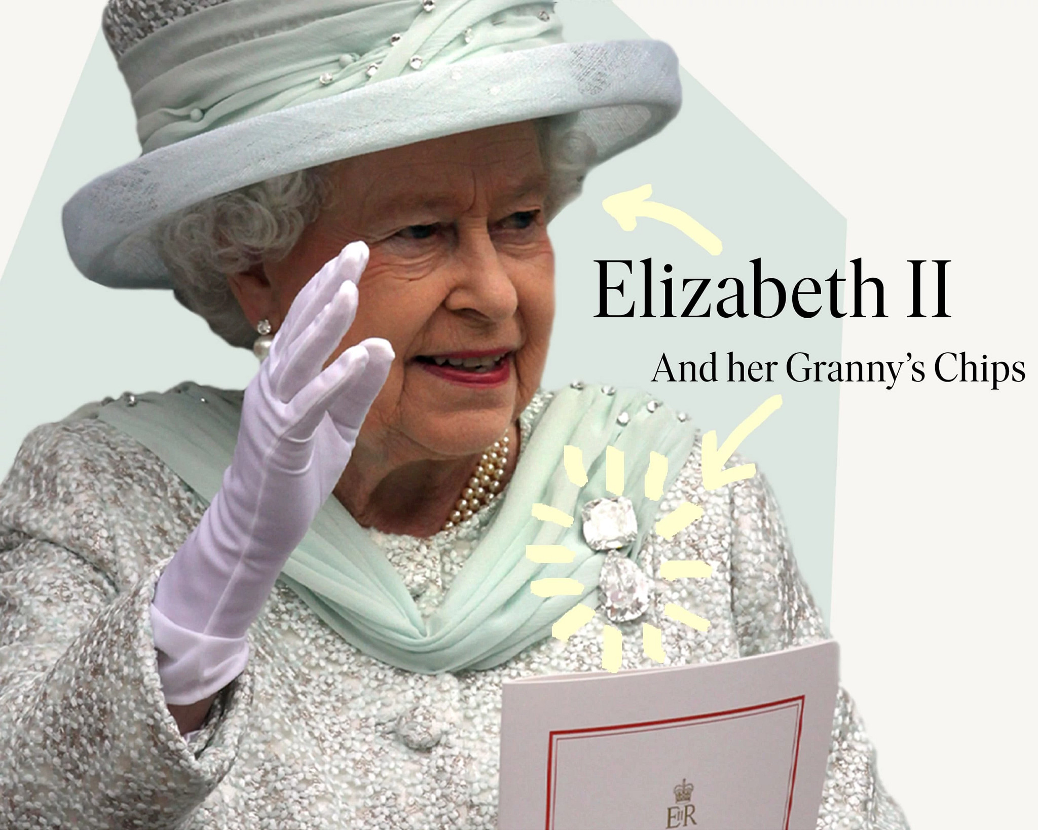 60周年登基庆典上的伊丽莎白二世