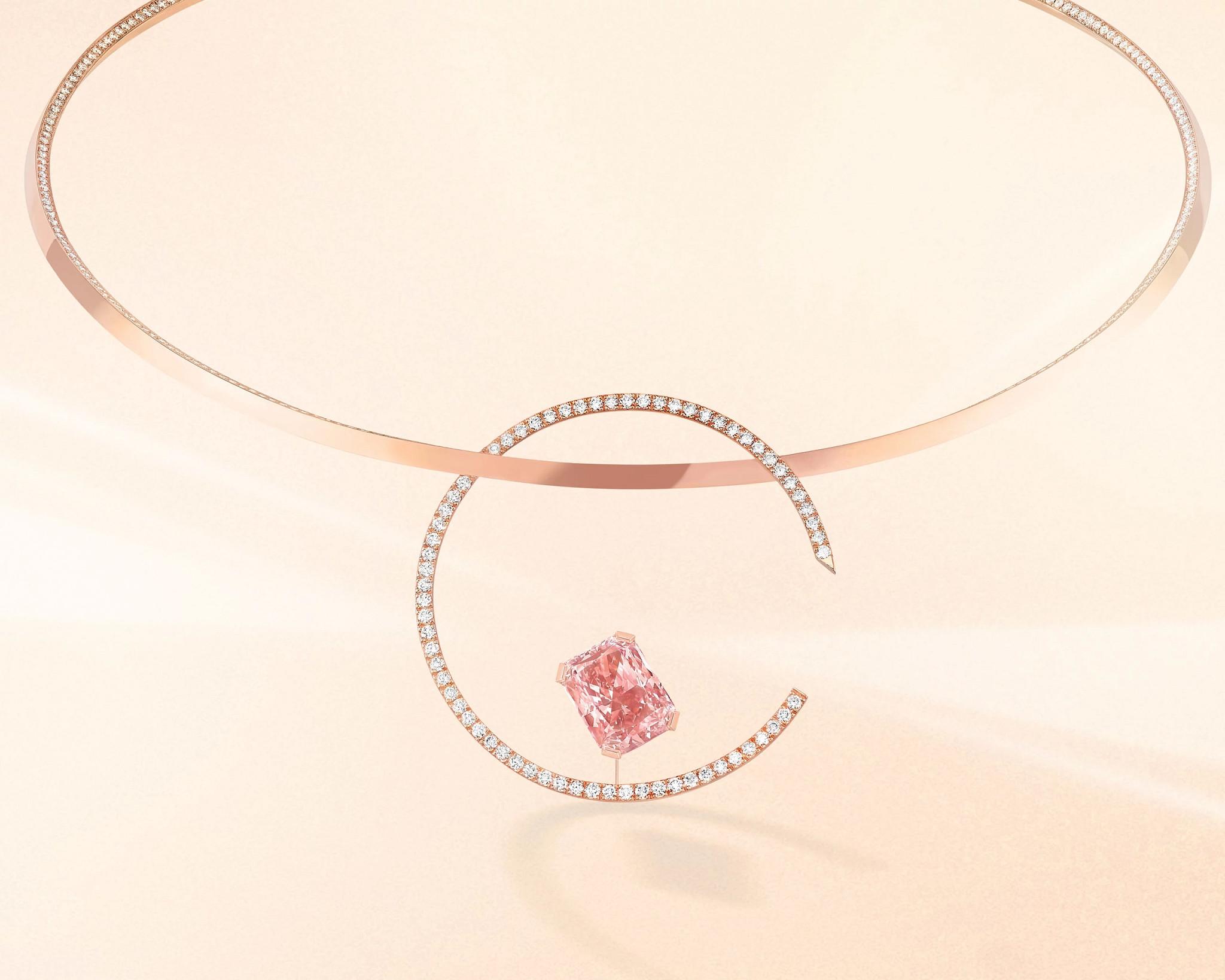 诱惑系列天然钻石项链